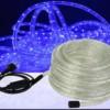 Φωτοσωλήνας LED Δικάναλος με Ρυθμιστή 10m Μπλέ
