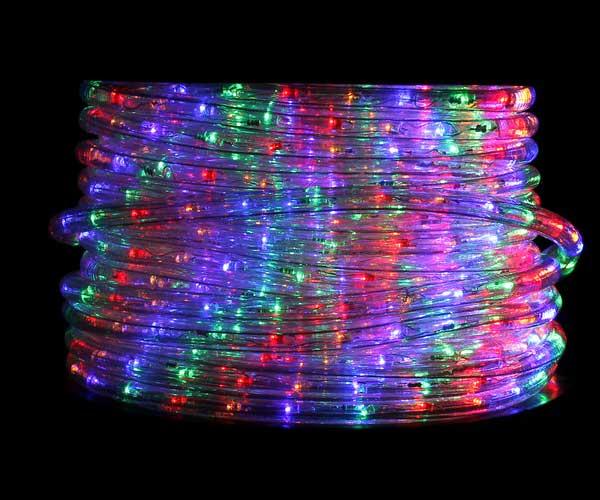 Φωτοσωλήνας LED Στρογγυλός 4-χρωμος RGBY με το Μέτρο