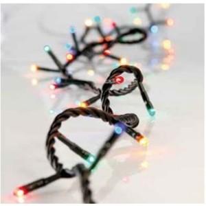 Σειρά με 100 Λαμπάκια Χριστουγέννων Επεκτάσιμα Πράσινο Καλώδιο/Πολύχρωμα 12μέτρα IP20 220-240V OEM 840485