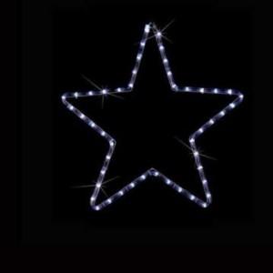 LED Φιγούρα Αστέρι Μονό 1m Μπλέ Φως IP44 220-240V OEM 840101
