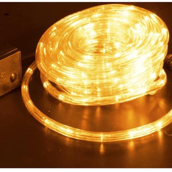 Σετ Δικάναλου Φωτοσωλήνα με Ρυθμιστή 10μέτρα σε Blister 3W/m Θερμό Χρώμα IP44 220-240V OEM 840348