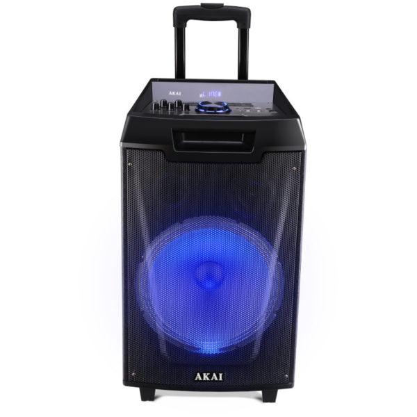 ασύρματο μικρόφωνο και υποδοχή για μικρόφωνο και όργανο – 40 W RMS