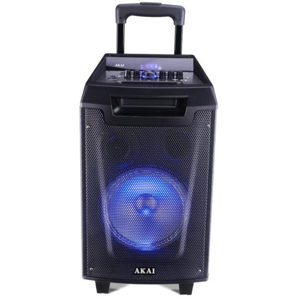 ασύρματο μικρόφωνο και υποδοχή για μικρόφωνο και όργανο – 30 W RMS