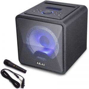 Akai ABTS-B6 Φορητό ηχείο Bluetooth karaoke με USB