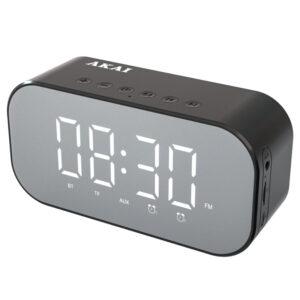 Akai ABTS-C5 Ξυπνητήρι και ηχείο Bluetooth με Aux-In