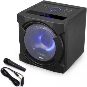 Akai ABTS-K6 Φορητό ηχείο Bluetooth karaoke με USB