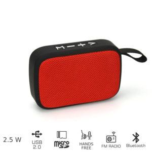 55110582-0068-Akai ABTS-MS89R Φορητό ηχείο Bluetooth με USB και micro SD – 2.5 W