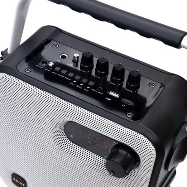 micro SD και ασ. μικρόφωνο – 30 W RMS