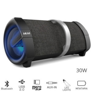 55110582-0078-Akai ABTS-V1 Φορητό ηχείο Bluetooth με USB