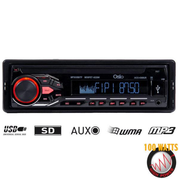 55112216-0006-Osio ACO-4369UR Ηχοσύστημα αυτοκινήτου με USB