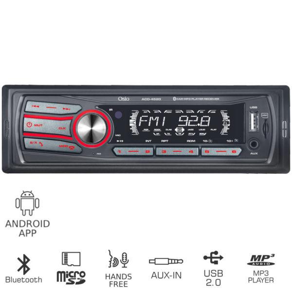 55112316-0001-Osio ACO-4520UBT Ηχοσύστημα αυτοκινήτου με Bluetooth