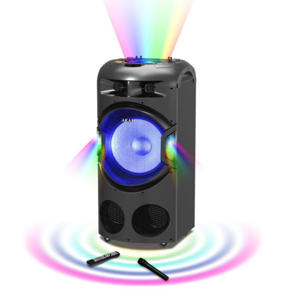 55110582-0087-Akai DJ-BY4L Φορητό ηχείο Bluetooth karaoke με μίκτη