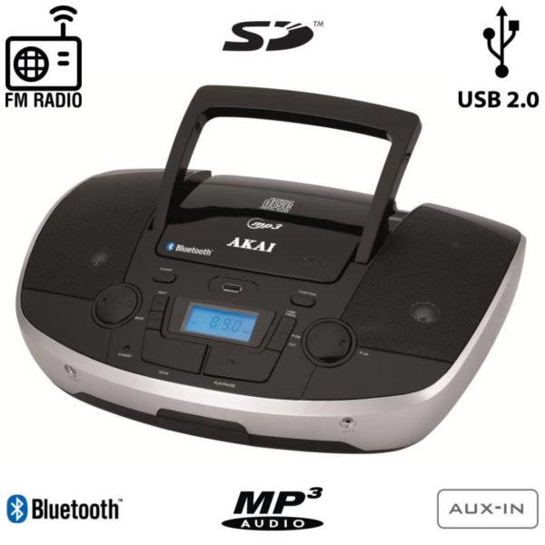 55110583-0002-Akai APRC-108 Φορητό HiFi με Bluetooth