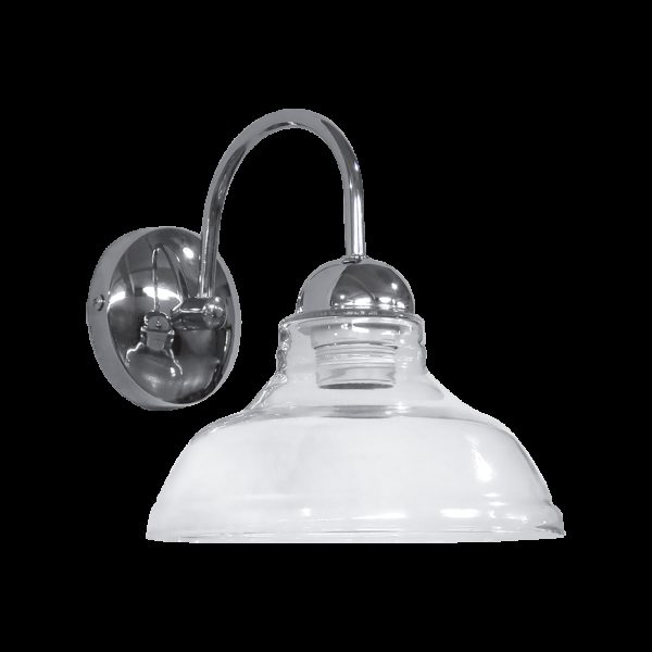 490-02-0245-Φωτιστικό τοίχου GL-5060AP nickel Φ20 02-0245