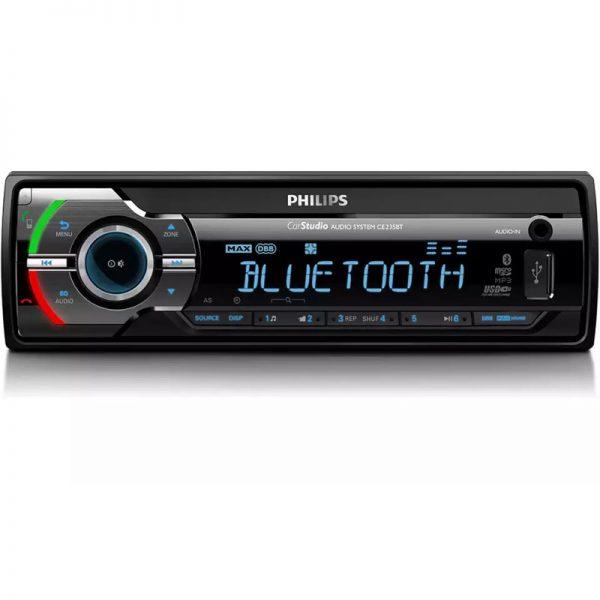 Philips CE235BT/GRS Ηχοσύστημα αυτοκινήτου με Bluetooth
