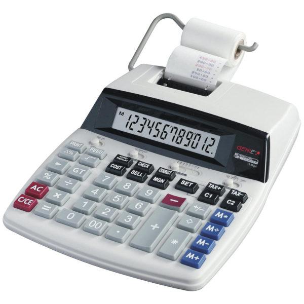 55110649-0051-Genie D69 PLUS Αριθμομηχανή γραφείου με δίχρωμη εκτύπωση