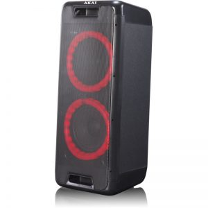 Akai DJ-880 Φορητό Bluetooth party speaker με LED