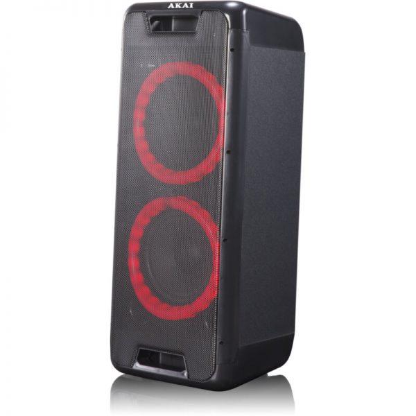 Akai DJ-880 Φορητό Bluetooth party speaker με LED