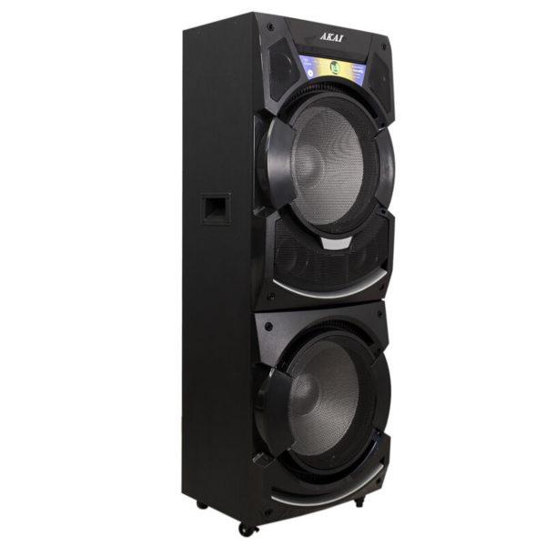 2 Aux-In και ασύρματο μικρόφωνο – 400 W