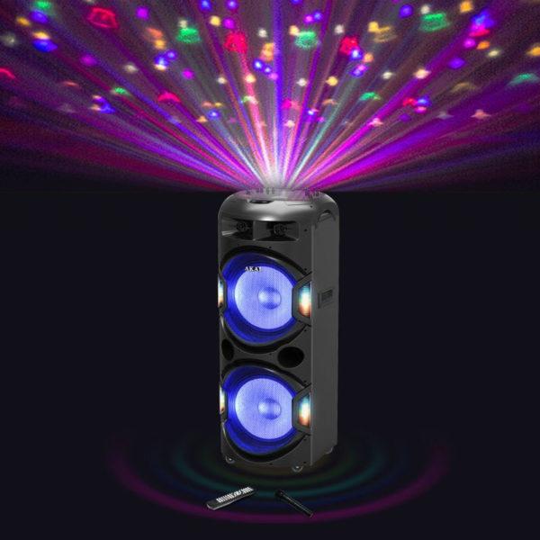 LED και ασύρματο μικρόφωνο – 350 W RMS