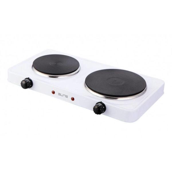 551109194-0002-Elite EHP-0283W Διπλή ηλεκτρική εστία κουζίνας 2500 W