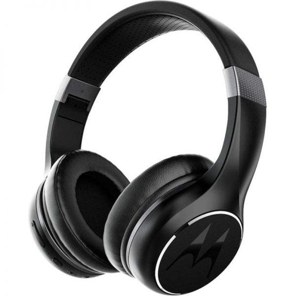 5514591-0016-Motorola ESCAPE 220 Μαύρο Ασύρματα Bluetooth 5.0 over ear ακουστικά Hands Free