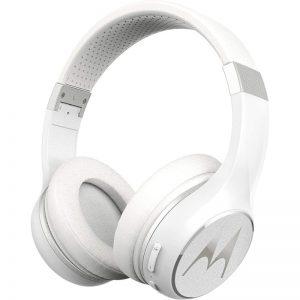 Motorola ESCAPE 220 Λευκό Ασύρματα Bluetooth 5.0 over ear ακουστικά Hands Free
