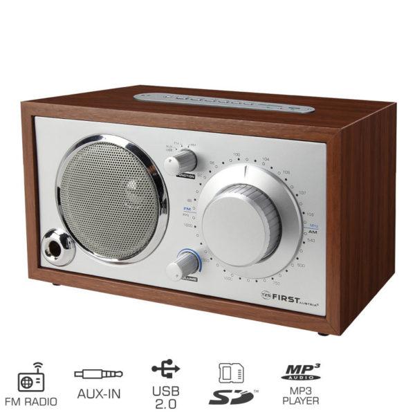 5519983-0049-First Austria FA-1907-2 Αναλογικό ραδιόφωνο με USB