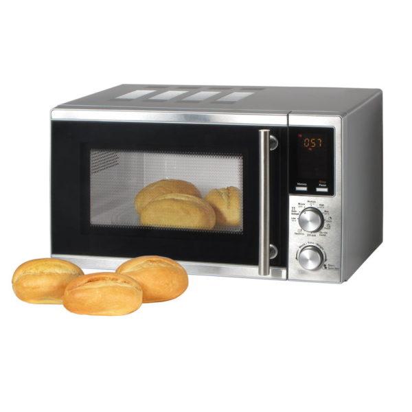 55199195-0003-First Austria FA-5002-3 Inox φούρνος grill 900 W και μικροκυμάτων 20 L 700 W