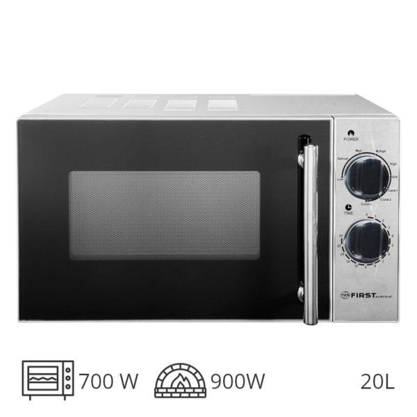 55199195-0017-First Austria FA-5002-4 Inox φούρνος grill 900 W & μικροκυμάτων 700 W – 20 L