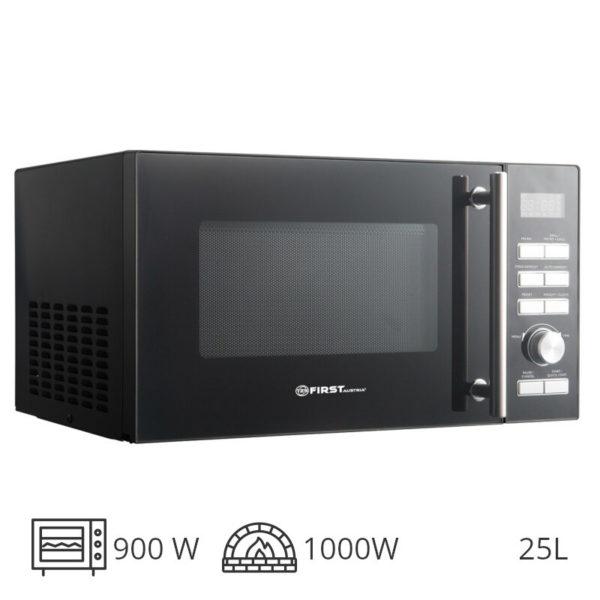 55199195-0018-First Austria FA-5002-5 Inox φούρνος grill 1000 W & μικροκυμάτων 900 W – 25 L