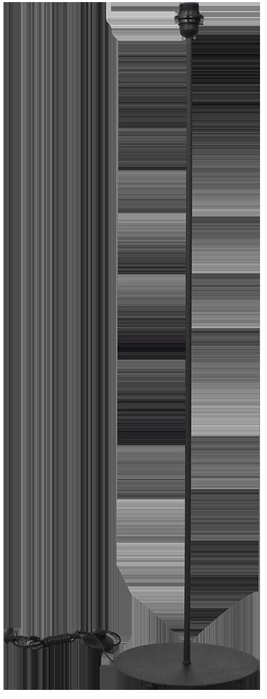 490-09-0056-Φωτιστικό Δαπέδου βάση FLB-03 120cm BLACK 09-0056