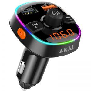 Akai FMT-52BT FM transmitter με LED