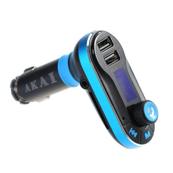 55110585-0001-Akai FMT-66B FM transmitter και φορτιστής αυτοκινήτου με Bluetooth