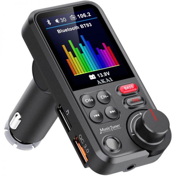 Akai FMT-93BT FM transmitter με Hands Free