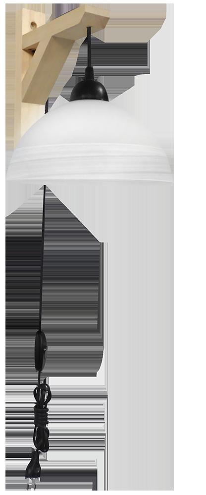490-02-0240-Φωτιστικό απλίκα GL-1020AP FIS BL-WH 02-0240