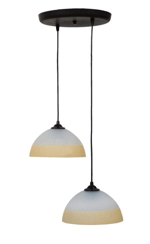 490-02-0235-Φωτιστικό /οροφής ανισόπεδο GL-1020PENDEL 2L BL-SOMON 02-0235