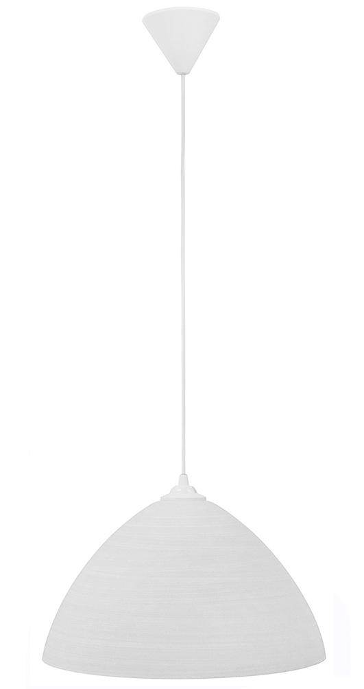 490-02-0205-Φωτιστικό  GL-1010/35 1/L WHITE BRUSH 02-0205
