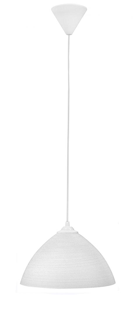 490-02-0203-Φωτιστικό  GL-1010/25 1/L WHITE BRUSH 02-0203