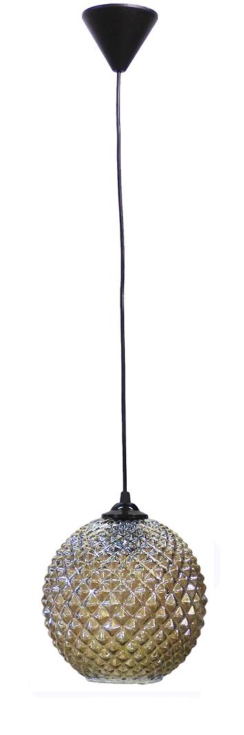 490-02-0214-Κρεμαστό φωτιστικό GL-5010-20 1L FUME  BALL 02-0214