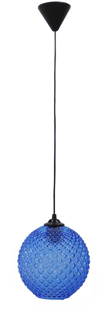 490-02-0213-Κρεμαστό φωτιστικό GL-5010-20 1L BLUE  BALL 02-0213