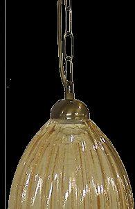 490-02-0264-Φωτιστικό κρεμαστό GL-5040 1L CHAIN BR - MELI 02-0264