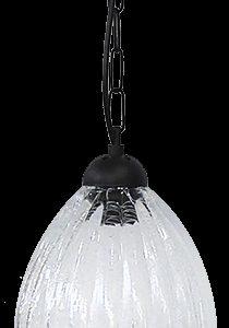 490-02-0266-Φωτιστικό κρεμαστό GL-5040 1L CHAIN BL-TRANS 02-0266