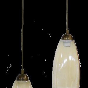 490-02-0279-Φωτιστικό GL-5050 2L PENDEL BR Φ15 02-0279