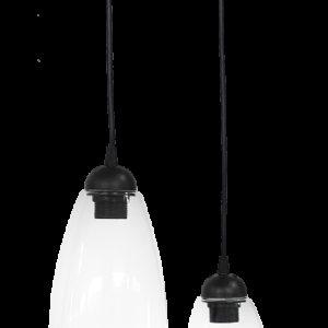 490-02-0281-Φωτιστικό GL-5050 2L PENDEL BL-TRANSPANTE 02-0281