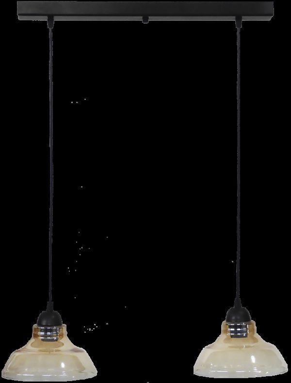 490-02-0252-Φωτιστικό GL-5060 RAGA 2L BL-MELI 02-0252