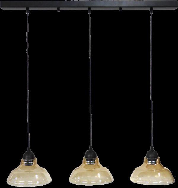 490-02-0255-Φωτιστικό GL-5060 RAGA 3L BL-MELI 02-0255