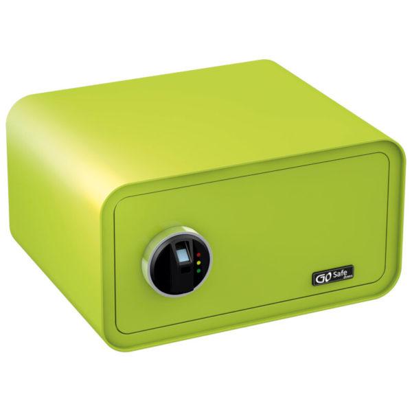 551106452-0019-Olympia GOSAFE200 FP GR Πράσινο Χρηματοκιβώτιο με δακτυλικά αποτυπώματα και ηλεκτρονική κλειδαριά 24 x 43 x 36 cm