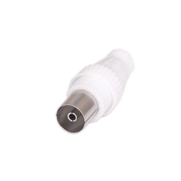 55100100-0001-Osio OCK-2008 Βύσμα κεραίας για ομοαξονικό καλώδιο θηλυκό