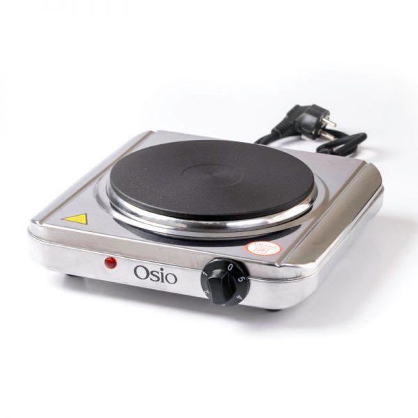 551120194-0002-Osio OHP-2418 Μονή ηλεκτρική εστία κουζίνας inox 18.5 cm με θερμοστάτη 1500 W
